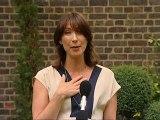 Samantha hosts her first Downing Street reception