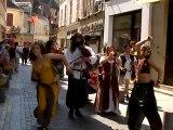Festival médiéval de Montluçon : les troubadours dans la vil