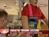 Robotik Yürüme Sistemi-Felçlilere Müjde