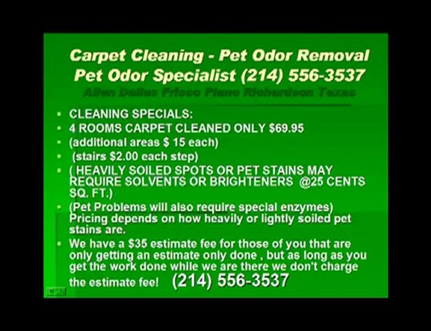 Carpet cleaning dallas water extraction pet odor removal Are