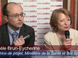 M. Brun-Eychenne, ministère de la Santé et J. Beaupied, KPMG