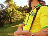 (HD) Voo Duplo de Parapente no Rio :: Praia do Pepino