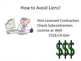 Avoiding a Mechanic's Lien in Murrieta