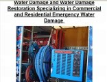 Emergency water extraction water damage restoration Dallas F