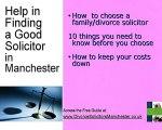 Manchester Divorce Solicitors  choose Best Solicitor  Manch