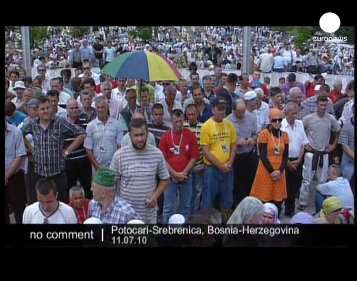 Bosnia marks Srebrenica massacre - no comment