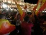 Que viva España - avec les supporters -