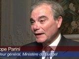 Philippe Parini, Directeur général des finances publiques