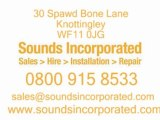 Disco Equipment Yorkshire -  Sounds Incorporated