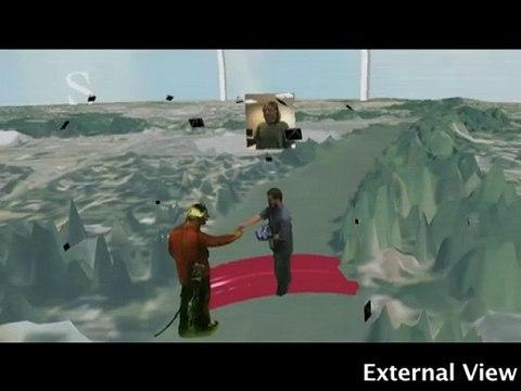 A 3D  Data Intensive Tele-immersive Grid