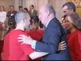 """Gracias campeones"": Juan Carlos félicite l'équipe d'Espagne"