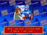 Marvel vs street fighter Captain america