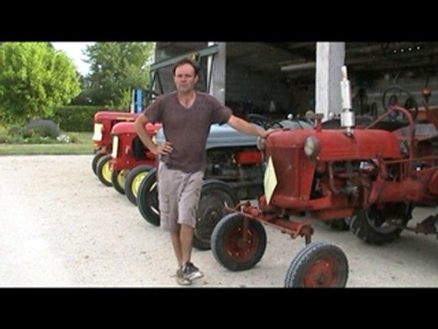Les vieux tracteurs du côté de Régano