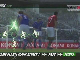 PES 11 oyun içi videosu