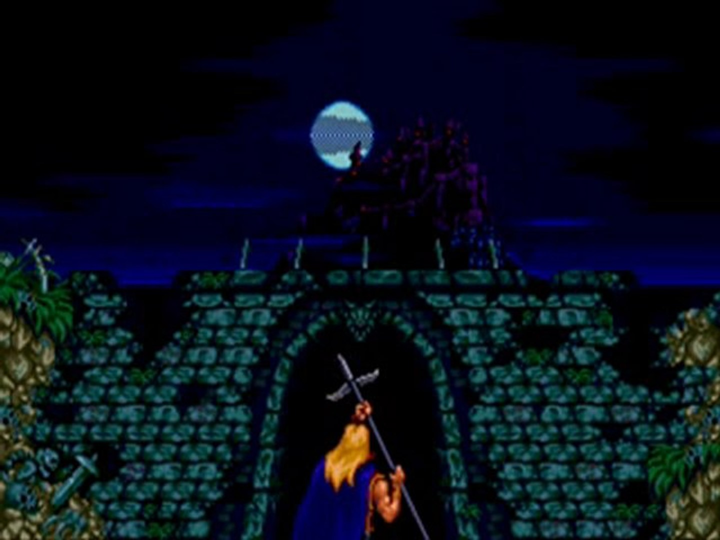 Castlevania: Bloodlines Walkthrough/04 Bonus: Eric Lecarde