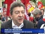 Retraites : rassemblement unitaire des syndicats à Paris