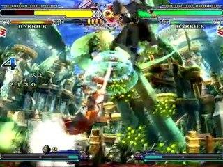 Makoto Character Intro de Blazblue Continuum Shift