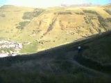VTT 2 alpes - descente du pied moutet