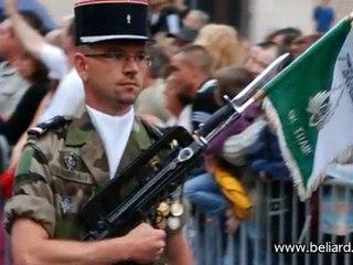 Fête nationale 2010, cérémonies militaire de Besançon