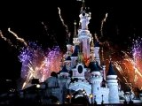 Disneyland Paris, feu d'artifice du 14 Juillet 2010