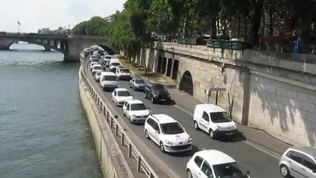 voie express Georges Pompidou