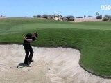 Golf Tips tv: Bunker Shot Drill.