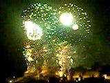 feu d'artifice de carcassonne le 14 juillet 2010