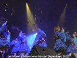 Concert des Morning Musume (Japan Expo 2010)