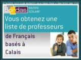 Cours particulier Français - Calais