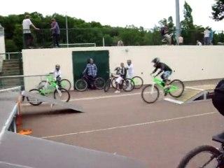 Départ poursuite sur le Bike Park Mobile