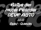 Rallye des routes picardes SEVP AUTO 2010 - 15 èdition