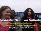 Venantie Bisimwa Nabintu Docteur Honoris Causa UCL 2010