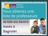 Soutien Scolaire Aide aux devoirs - Bagnolet