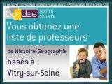 Cours particulier Histoire-Géographie - Vitry-sur-Seine