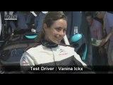 La Citroën Survolt au Mans avec Vanina Ickx