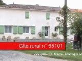 Gîte rural n° 65101 - gîtes de france 17