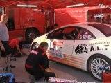 Organisation d' une assistance sur le rallye du rouergue 2010 avec le team G.P.C Motorsport