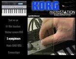 Synthétiseur Korg MICROSTATION (La Boite Noire)