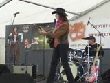 Lilly West et danseurs - festival Country 2010 St Dier