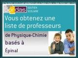 Cours particulier Physique-Chimie - Épinal