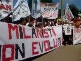 Milan: il raduno parte con le proteste