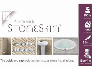 StoneSkin Natural Stone 4mm Thickness Thin and  Lightweight