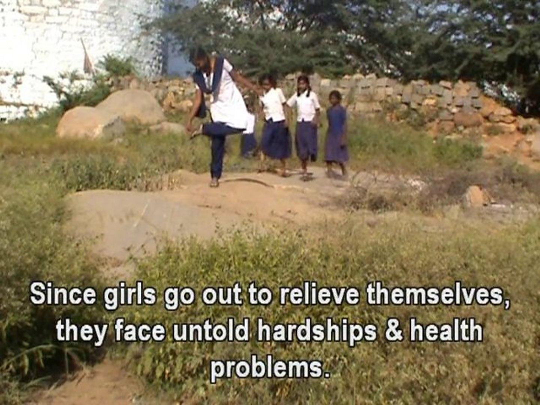 CAMP: School lacks girls' toilet