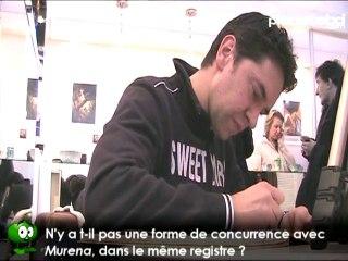 Enrico Marini en interview pour planetebd.com