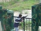 Cu Chi 24 juillet 2010 :  tir à la M60