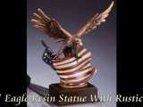 Patriotic Awards, Military Statues & Eagle Statues