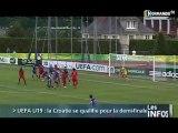 Coupe d'Europe U19: France-Croatie en demi-finale (Foot)