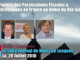 L'Origine des Persécutions fiscales & anti-catholiques (2/5)