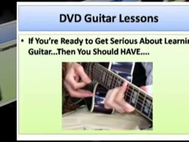 DVD Guitar Lessons –  Why You Need DVD Guitar Lessons