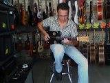 Cigar Box Guitar (Arnaud DALLIER) Picking